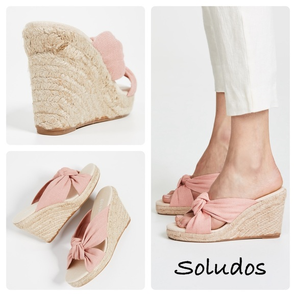 8f9265195ed Soludos Women s Knotted Wedge Espadrilles
